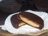Homemade peanut butter cups...Nutella too