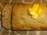 Moist Mango Nut Bread