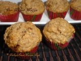 Pear Walnut Muffin