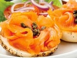 Classic Bagels and Lox