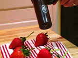 Hand-dipping Strawberries in Chocolate or What's the Hair Dryer Doing in the Kitchen