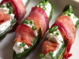 More Super Bowl Specials: Goat Cheese Stuffed Jalapenos Wrapped in Bacon