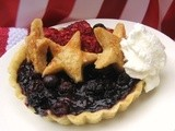 Star Spangled Fourth of July Berry Tarts