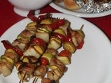 Easy Chicken Kebabs for the Grill