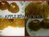 Apple Kiwi Halwa