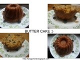 Eggless Butter Cake with Sliced apples and Crunchy topping  :)