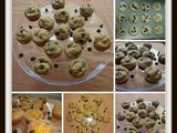 Mini Choco Chip Muffins(Eggless)