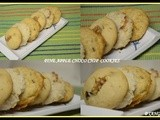 Pineapple Choco chip cookies