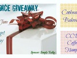 Wonderful giveaway by Preeti