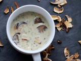 Kulajda – Czech White Soup with Mushrooms, Potatoes and Dill