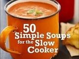 Book Review: 50 Simple Soups for the Slow Cooker