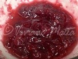 Grapefruit Cranberry Sauce