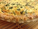 Spinach Quiche – An Altered Better Homes and Gardens Recipe