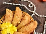 Gujias With Paneer and Coconut filling