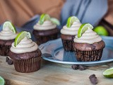 Spicy Chocolate Cupcakes with Walnuts