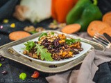 Sweet Potato and Quinoa Salad with Cranberry