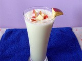 Apple Milk Shake