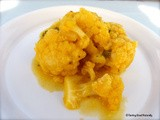 Cauliflower with carrot juice and orange – Vegan