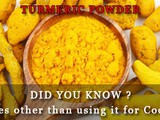 Turmeric Powder: 5 other important uses other than just making food