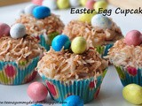 Easter Egg Carrot Cupcakes