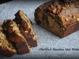 Marbled Banana Nut Bread