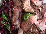 Bbq Roast Beef with Fresh Cherry Relish