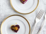 Beet and Goat Cheese Napoleon with Meyer Lemon Vinaigrette