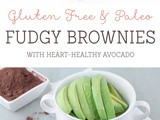 Paleo & Gluten Free Brownies with Avocado