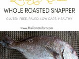 Whole Red Snapper Roasted with Shiso and Lemon