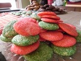 Last-Minute Holiday Colored Sugar Cookies
