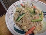 Scallops & Vegetable Stir-Fry Noodles