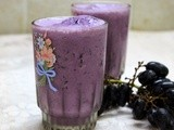Black Grapes and Dates Smoothie