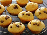 Eggless Pineapple Chocolate Chip Muffins
