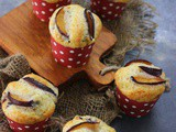 Eggless Plum Muffin Recipe