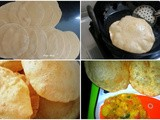 How to Make Soft Poori / Indian Puri recipe