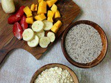 Oats Chia Seeds Breakfast Bowl