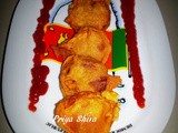 Onion and Potato Bajji / Onion and Potato Fritters