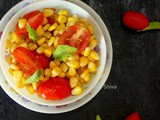 Summer salad bowl / Corn and Cherry Tomato Salad