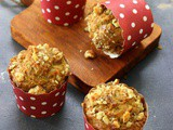 Vegan Carrot Banana Muffin
