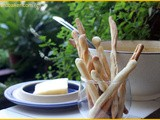 Soup Sticks with Sopa de Elote (Mexican Corn Soup)