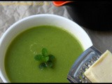 Soup | Zucchini-n-Spring Onion Soup