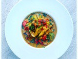 """Plate this Bourdain""….Indian Vegetable Curry"