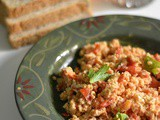 Baid Tamat/ Baith Thamath ~ Emirati Scrambled Eggs with Tomatoes