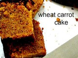 Be My Guest – Wholewheat Carrot Cake