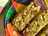 Easy Chewy Granola Bars | Granola Bars with Goji Berries & Chia