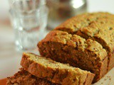 Eggless Banana Coconut Bread