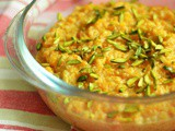 Gajrela ~ Pakistani Carrot Rice Pudding