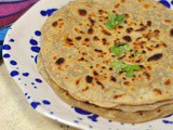 Gobhi Pyaaz Paratha | Cauliflower and Onion Stuffed Flatbread
