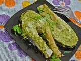 Green Baked Salmon