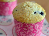 Hummingbird Bakery Blueberry Muffins